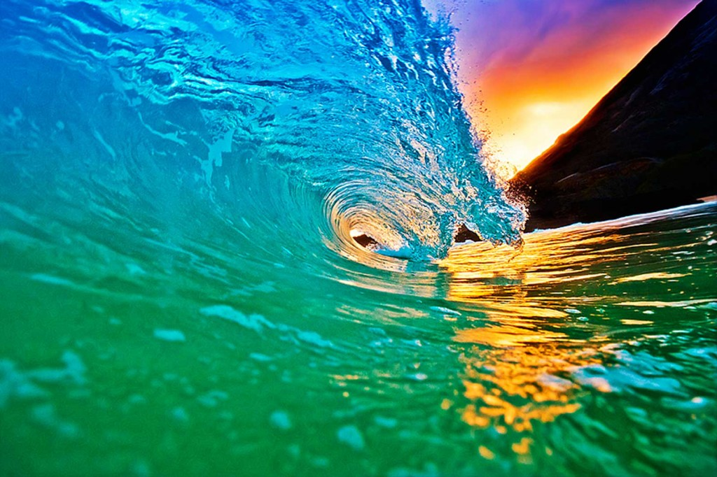 Jumping The Waves Rainbow Brick Road